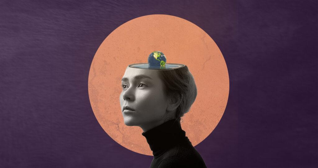 Masawa Artwork Woman Climate Mental Health