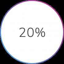 20% Stat Bubble